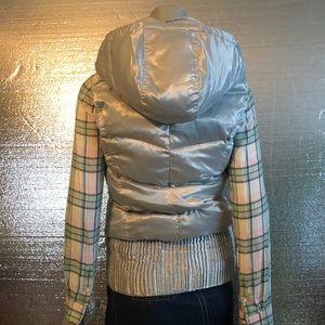 True Religion Jackets & Coats - True Religion Hoodie Puffer Statement Vest